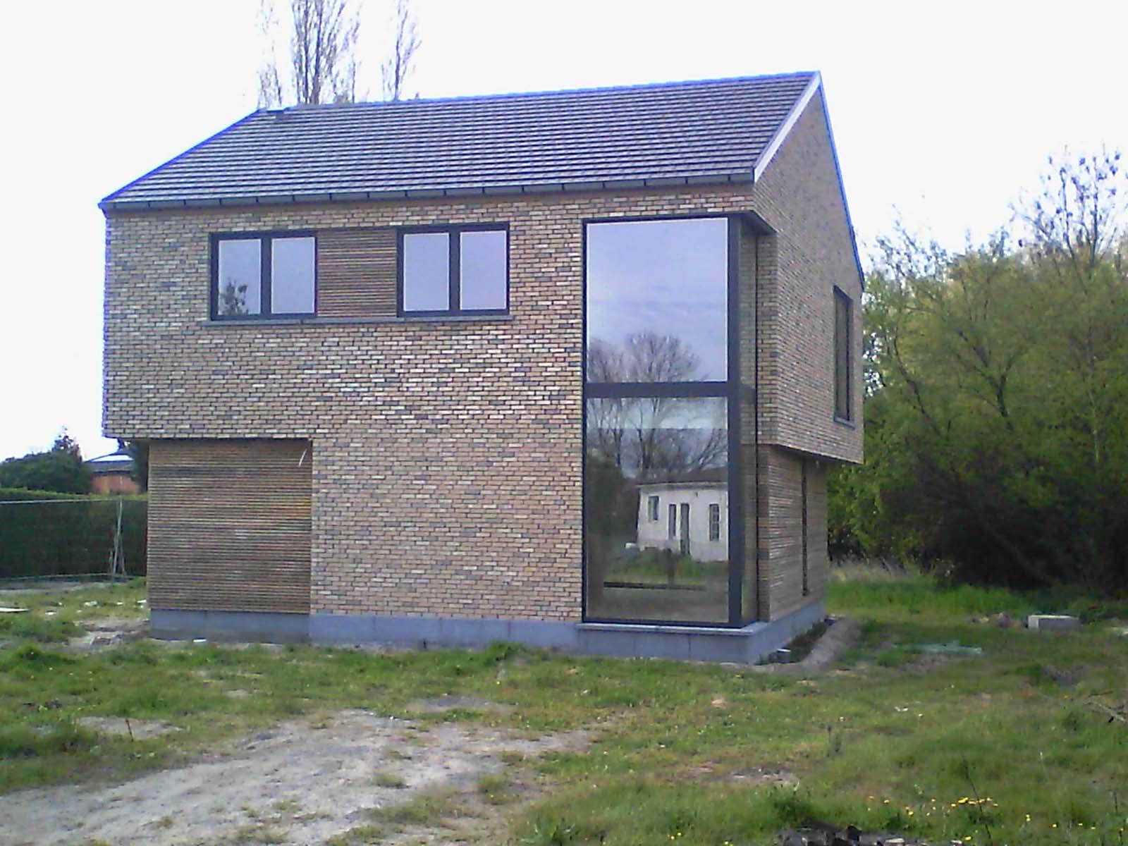 Architecte, Habitation, ééngezinswoning moderne